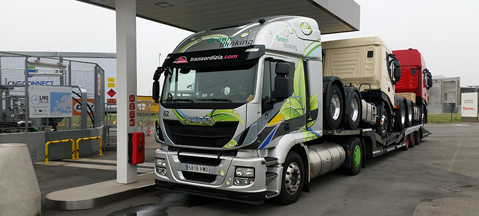 Iveco Stralis Natural Power LNG na europejskich trasach