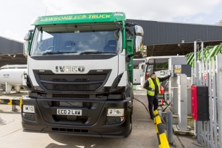 Iveco Stralis NP firmy Lawsons