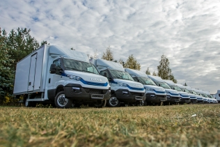 IVECO Daily Natural Power dla firmy HOLLYWOOD