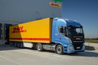 Zasilany LNG IVECO Stralis NP 460