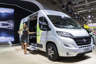 Fiat Ducato Natural Power na IAA 2018 w Hanowerze