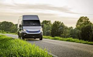 IVECO Daily Blue Power - Van roku 2018 w Danii