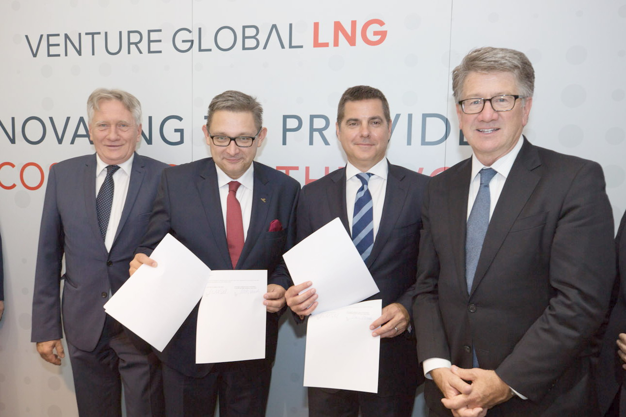 LNG z USA - PGNiG i Venture Global LNG