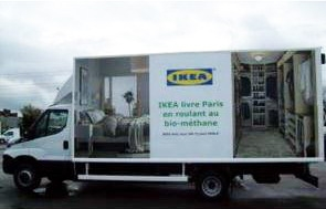 Iveco Daily Natural Power w barwach Ikea