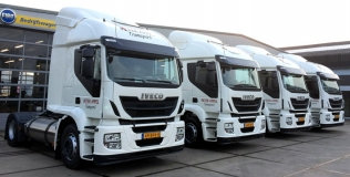 Stralisy LNG firmy Peter Appel Transport